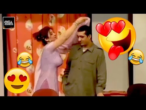 Zafri Khan & Hina Shaheen - Best Comedy Clip In Stage Drama||Very Funny😂