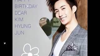 Happy Birthday  Kim Hyung Jun SS501