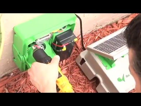 Green Vacuum Solar Condensate Drain Line Cleaner - How to Clean A/C Condensate Drain