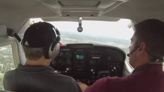Power-Off 180 in a Cessna 182