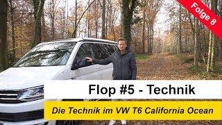 Folge 8 - Flop #5 - Die Technik im VW T6 California Ocean