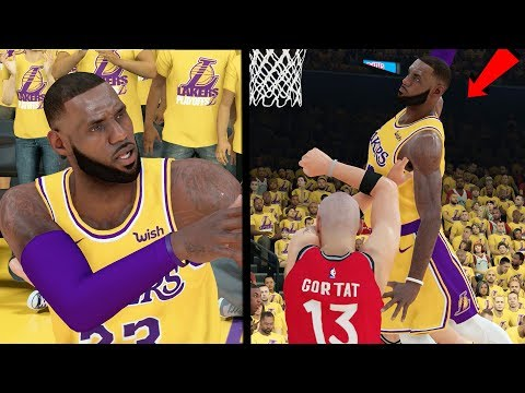 THE NBA FINALS!! LEBRON PUT HIS NUTS ON HIS HEAD! NBA 2k19 MyCAREER Ep. 69