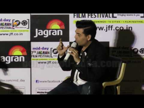 Karan Johar FULL SPEECH At 7th Jagran Film Festival 2016