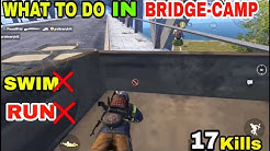 WHAT TO DO IN A BRIDGE-CAMP SITUATION (17 Kills)DUO VS SQUADPUBG MOBILE GAMEPLAY