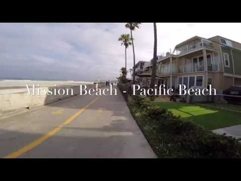 Mission Beach - Pacific Beach virtual run