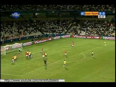 Brazil vs Egypt 4   3 FIFA Confederations Cup South Africa 2009 SKY SPORTS   YouTube