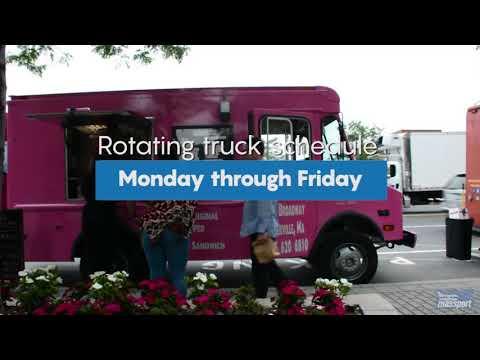 At Port of Boston - Food Trucks at Maritime Park