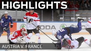 French Fluery downs Austria | #IIHFWorlds 2015