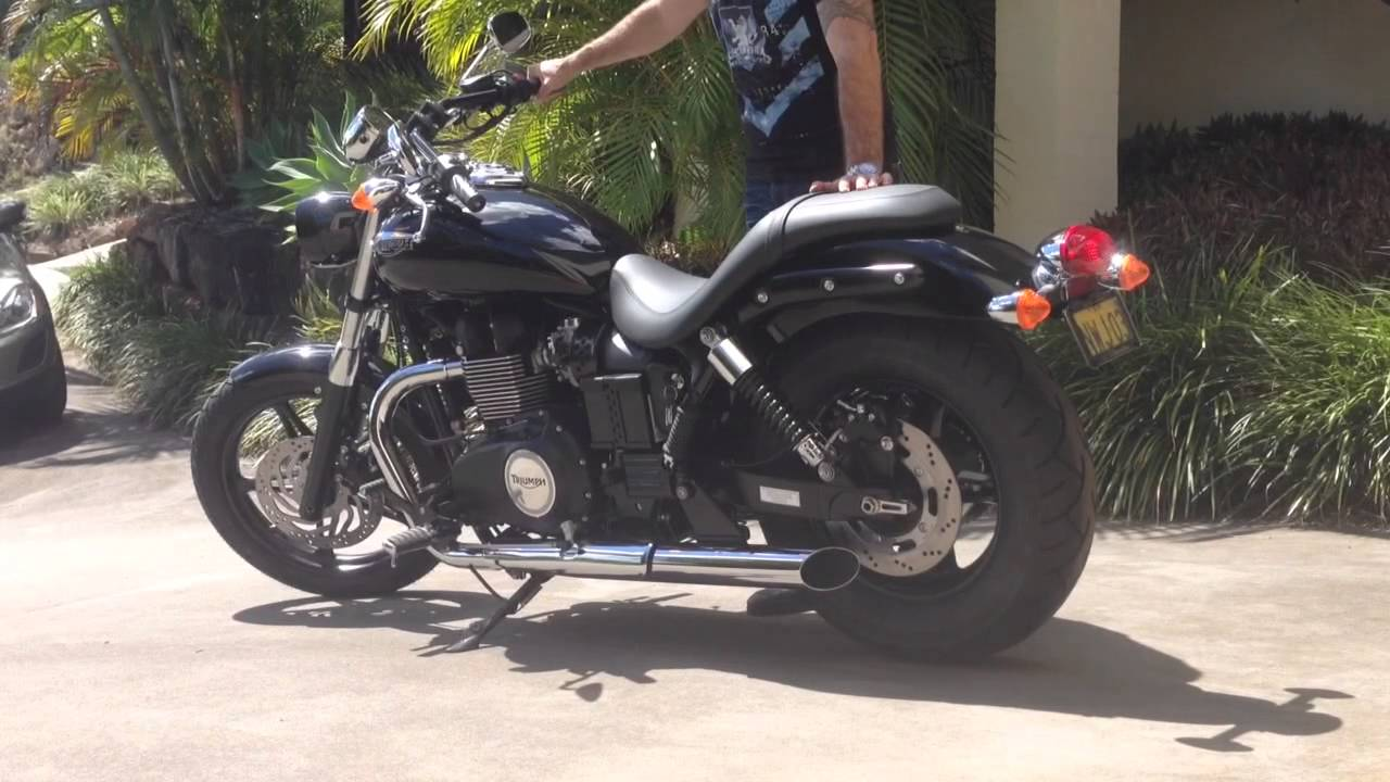 2014 Triumph Speedmaster With Triumph Hi Flow Short Pipes Or Tors