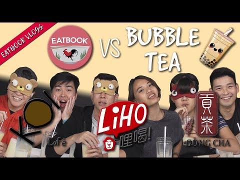 Eatbook VS Famous Bubble Tea Brands | Eatbook Vlogs | EP 83