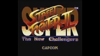 Super Street Fighter II: The New Challengers (SNES) - Longplay as Vega