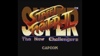 Super Street Fighter II: The New Challengers (SNES) - Longplay as Vega