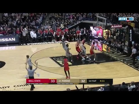 Highlights: Ball State at Purdue | Big Ten Basketball