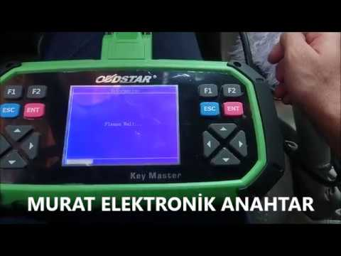 Murat elektronik anahtar citroen C5 pin code reader by obdstar key master