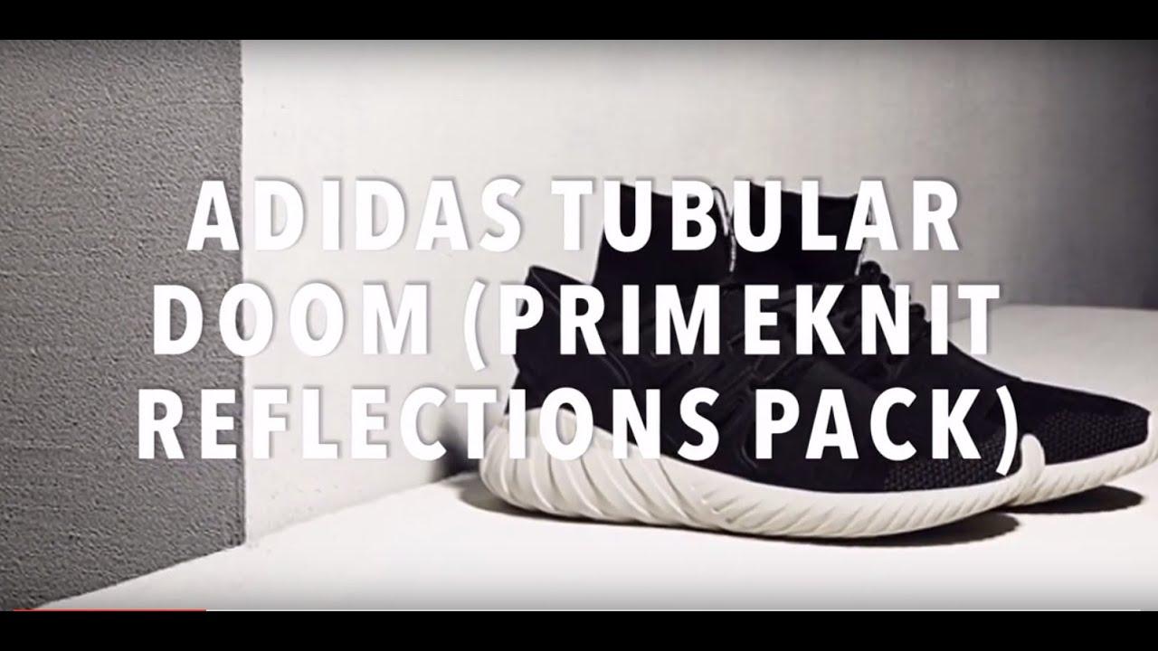 ADIDAS TUBULAR DOOM (PRIMEKNIT REFLECTIONS PACK) SNEAKERS NEWS - YouTube b9153496e
