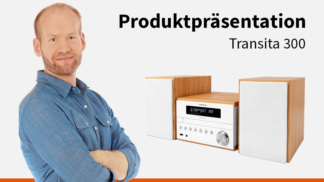 Video: Transita 300 | Micro-System mit Bluetooth und USB. | Nordmende