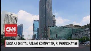 Indonesia Peringkat 56 Sebagai Negara Digital Paling Kompetitif