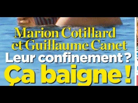 Marion Cotillard, Guillaume Canet, fuite de Paris #8211; ils agacent à Cap Ferret