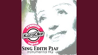Milord (Originally Performed by Edith Piaf)