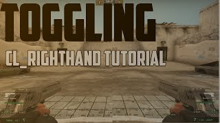 CSGO : How to toggle Cl_righthand 1/0