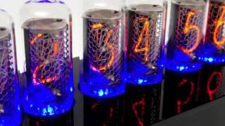 In-8 Blue Dream Nixie Tube Clock Demo #1