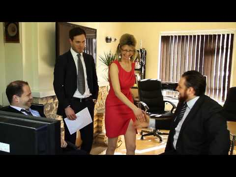 Woman farts in new job