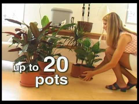 Automatic Plant Watering For Houseplants