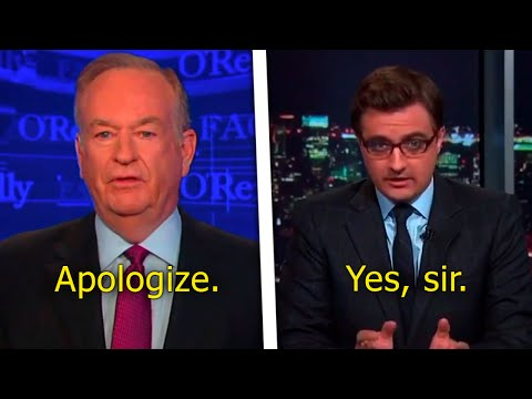 MSNBC Pathetically Cowers To Bill O'Reilly Over Flag Flap