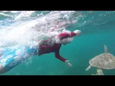 Owen's swimming buddy- Turks 2016