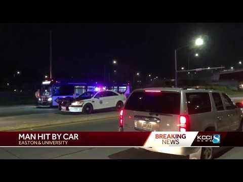 Man Seriously Injured After Accident In East Des Moines