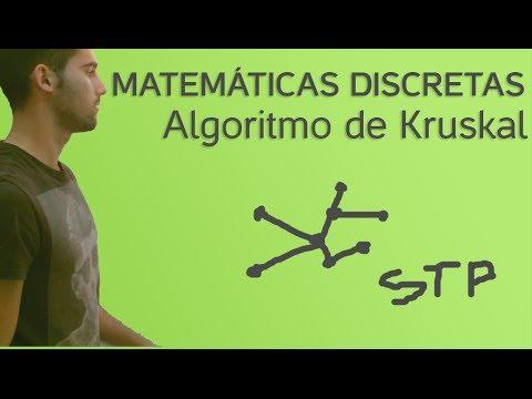 Matemáticas Discretas - Algoritmo de Kruskal