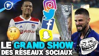 Le message énigmatique de Depay, Giroud trolle Arsenal, Beckham rejoue avec MU | Le Grand Show