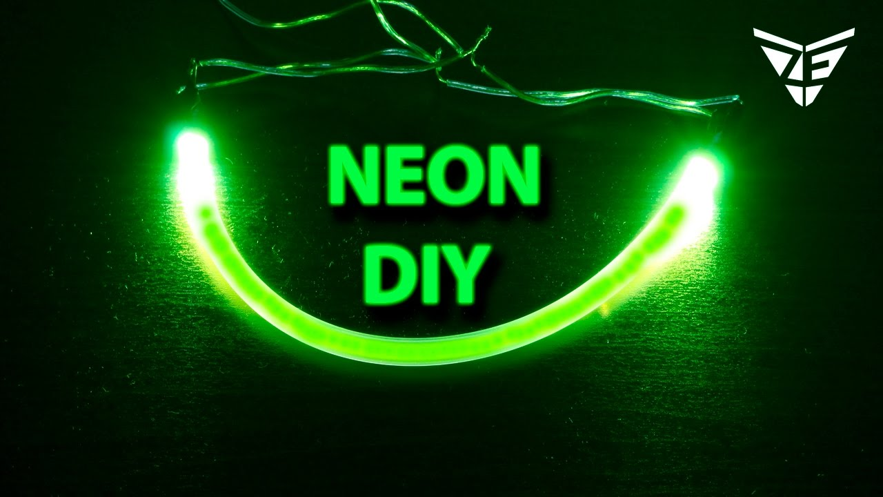 Neon Lamp How To Make A Neon Light Strips