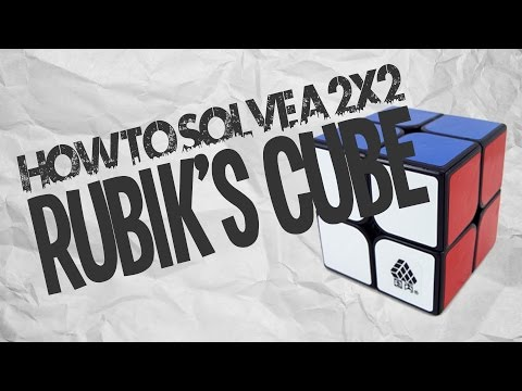 How to solve a 2x2 Rubik's Cube!!!