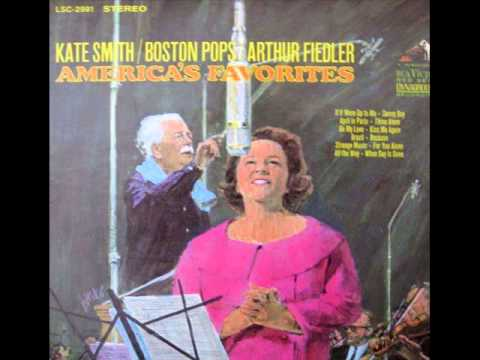 Kate Smith: When Day is Done (with the Boston Pops) (lyrics)