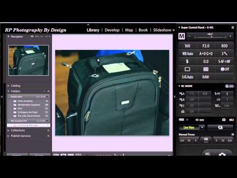 Olympus OMD E-M1 Tethering with Lightroom