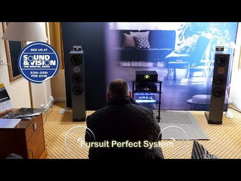 Spendor D9 HiFi Speakers Auralic Streamer Dac Amplifier @ Bristol Show Sound& Vision 2018