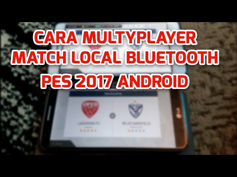 cara main multiplayer pes 2017 android