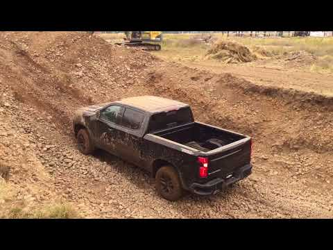 How Good Is The New 2019 Chevy Silverado Z71 Trail Boss OffRoad? mud, ruts and guts in Alpine, Idaho