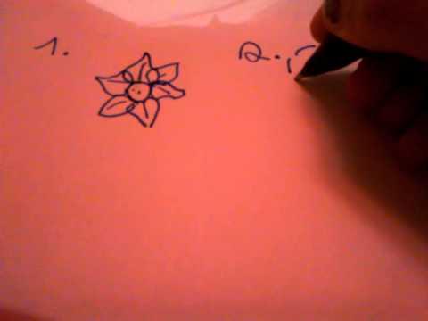 Blumen zeichnen