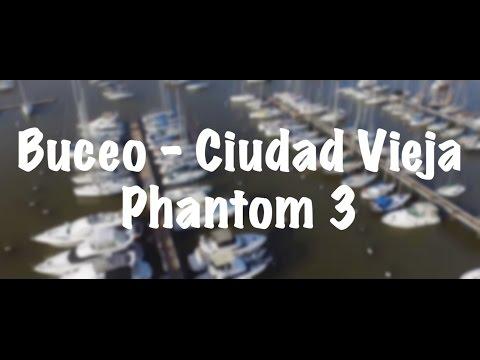Montevideo, Uruguay - DJI Phantom 3 - Buceo - Ciudad Vieja
