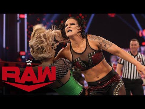 Nia Jax & Shayna Baszler vs. Naomi & Lana – WWE Women's Tag Team Title Match: Raw, Mar. 8, 2021