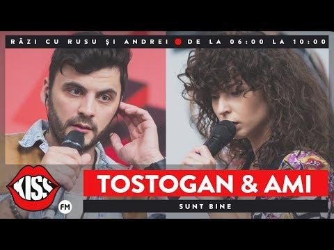 Tostogan'S feat. AMI - Sunt bine (Live @ Kiss FM)