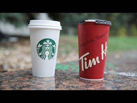Starbucks vs tim hortons