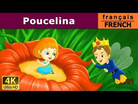 Poucelina | Histoire Pour S'endormir | Histoire Pour Les Petit | 4K UHD | Contes De Fées Français