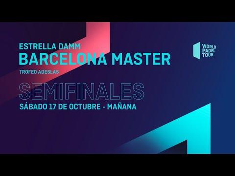 SemifinalesMañana-Estrella Damm Barcelona Master 2020- World Padel Tour