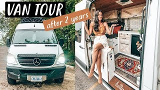 Download VAN TOUR after 2 years living in our TINY HOUSE on wheels | Eamon & Bec Mp3 and Videos