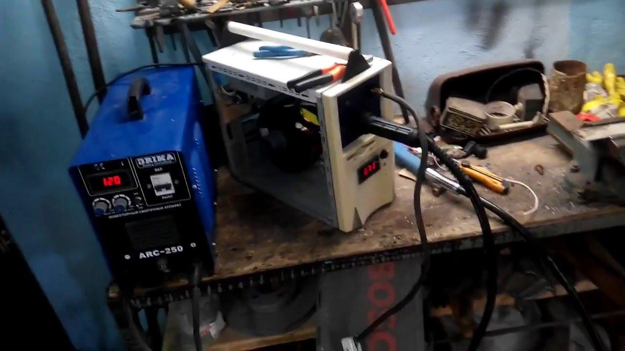 Приставка полуавтомат из инвертора своими руками