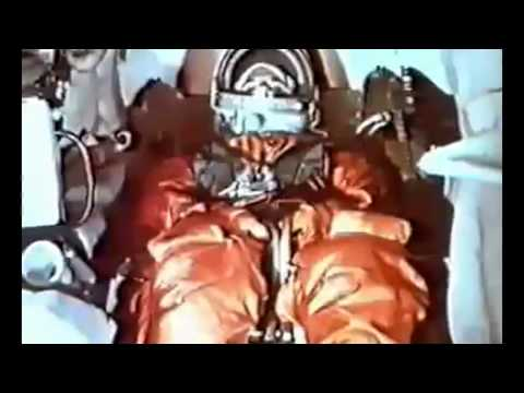 Старт корабля «Восток» с первым космонавтом Земли Ю. А. Гагариным