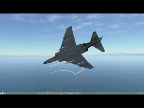 DCS World / Editor test / Antiship testing ammunition vs convoy